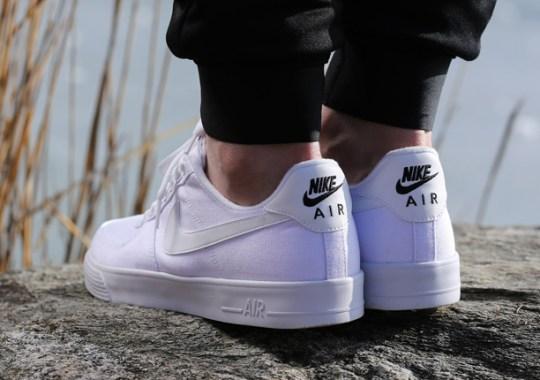 "size 40 019bb f198e Nike Air Force 1 AC ""Whiteout"""