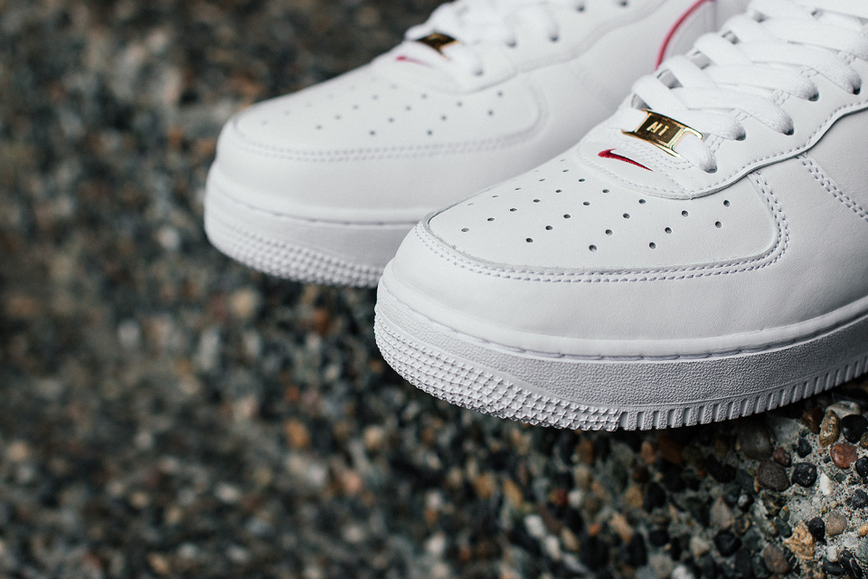 """0c31a06d4dce Nike Air Force 1 Low """"BHM"""" Color  White White-University Red Style Code   739389-100. Release Date  February 6th"""