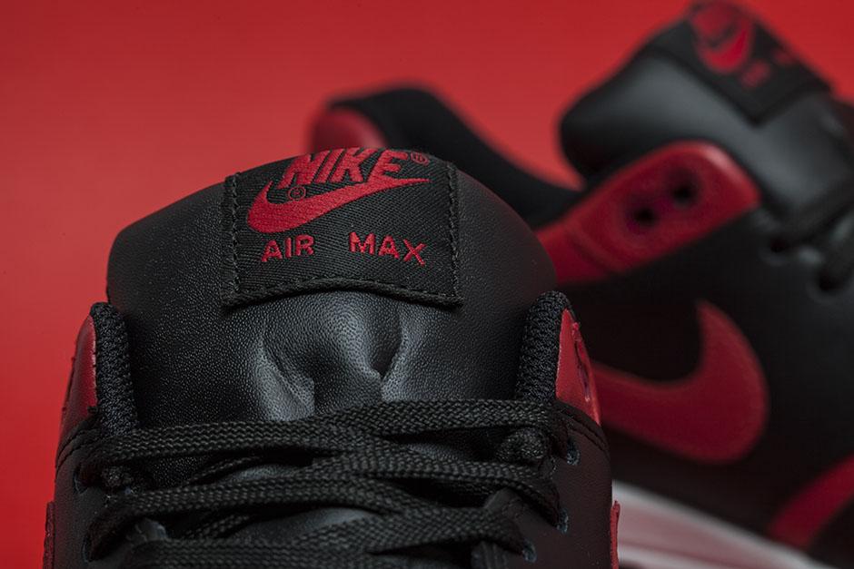 Nike Air Max 1 Premium Qs Rødt Kryss IMBWc