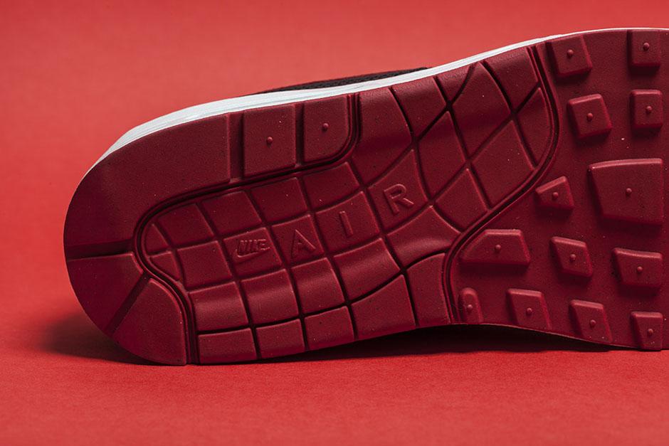 Nike Air Max 1 Qs Premium Cruz Roja XgvDmT