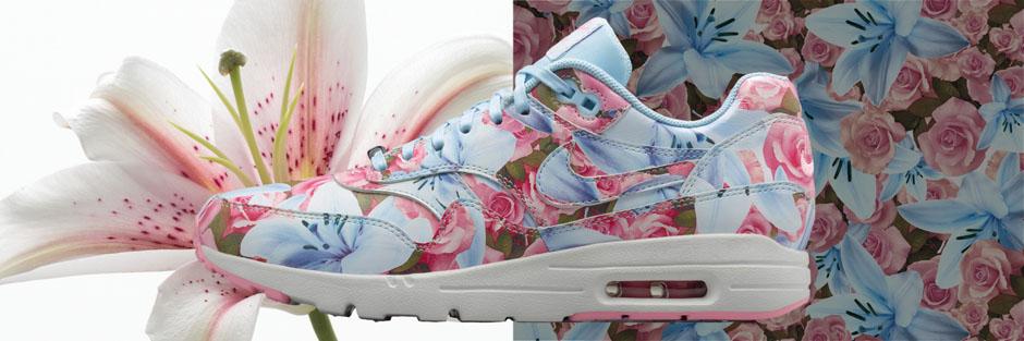 Nike Air Max 1 Collection De La Ville Passe Florale