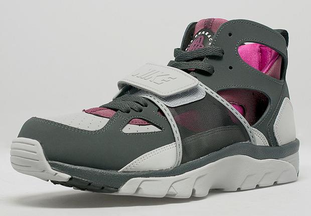 Nike Air Huarache Pink And Grey