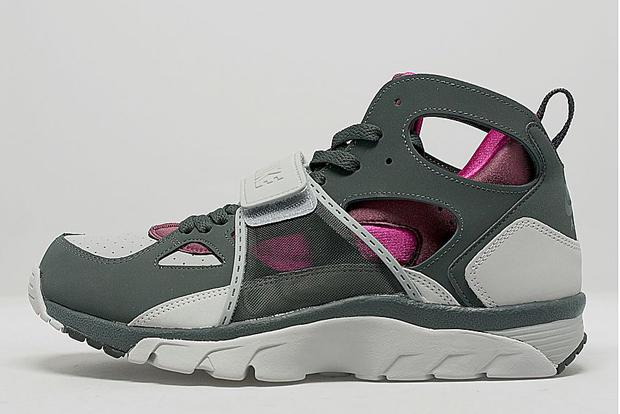 e4c0922057c84 Nike Air Trainer Huarache - Wolf Grey - Pink - SneakerNews.com