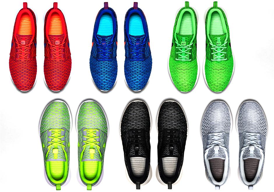 super popular 19f74 3aca9 Multiple Nike Flyknit Roshe Run Colorways Releasing This Thursday -  SneakerNews.com