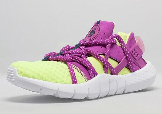 Nike Huarache NM – Volt – Fuchsia Flash
