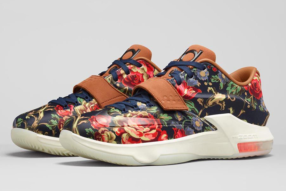 100% authentic e03f1 6fd96 Floral KD 7 Release Info   SneakerNews.com