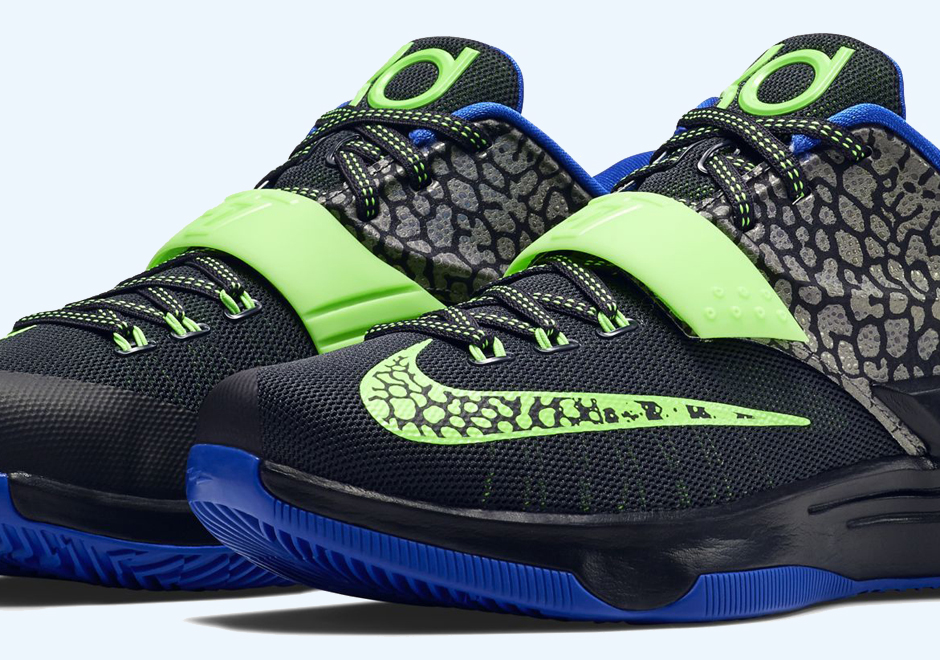 womens nike kd 7 green gold