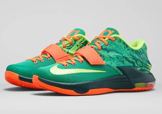 """Nike Takes Us Back To Kevin Durant's First Love With the KD 7 """"Weatherman"""""""