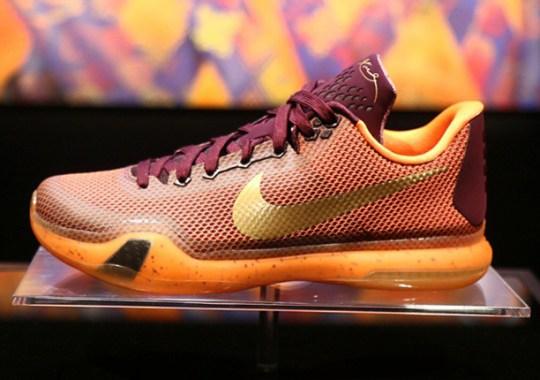 "Nike Kobe 10 ""Silk"" – Release Date"