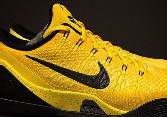 "promo code 59813 8c06b Nike Kobe 9 Elite ""Bruce Lee"" Promo Sample"