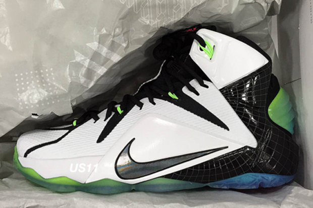 "Nike LeBron 12 ""All-Star"" Color: White/Multi-Color-Black Style Code:  742549-190. Release Date: 12/14/15. Price: $220"