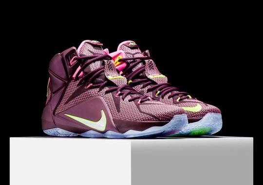 "778fc6bc8ef1b3 Nike LeBron 12 ""Double Helix"" – Release Reminder"