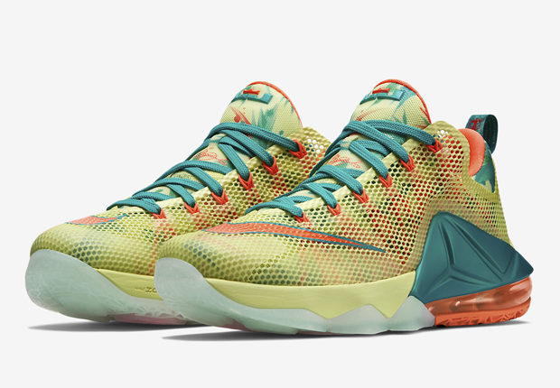 The LeBron 12 Low debuts with this LeBronold Palmer colorway on March 1st,  2015. The first installment of the Nike LeBron 12 Low, the LeBronold Palmer  look ...