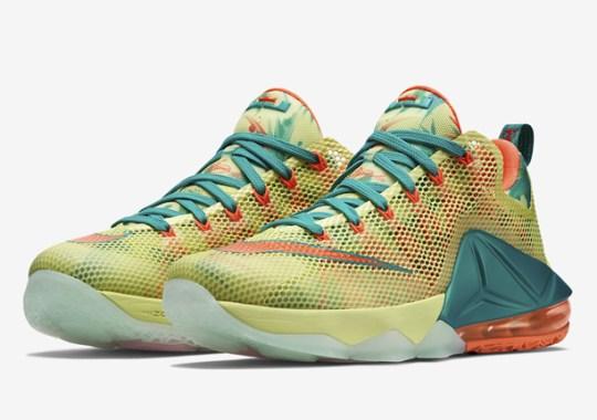 "Nike LeBron 12 Low ""LeBronold Palmer"" – U.S. Release Date"