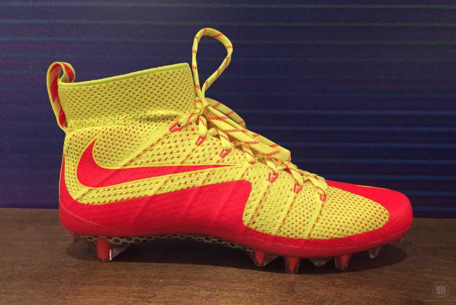 an exclusive look at the nike cleats at the 2015 nfl