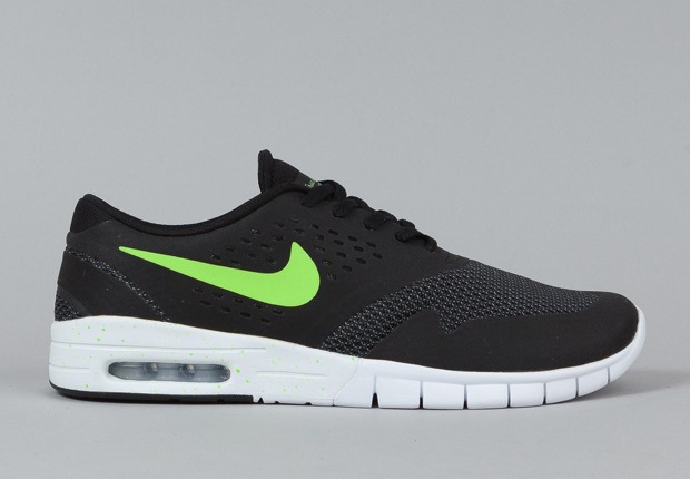 wholesale price release date: authorized site Nike SB Eric Koston 2 Max - Black - Flash Lime - SneakerNews.com