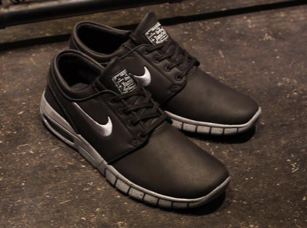 Nike Janoski Max Cuir Noir De officiel site officiel vente offres à vendre prix de gros wck3Ht