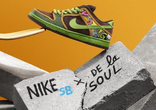 """Nike SB Dunk Low """"De La Soul"""" Releasing in May"""