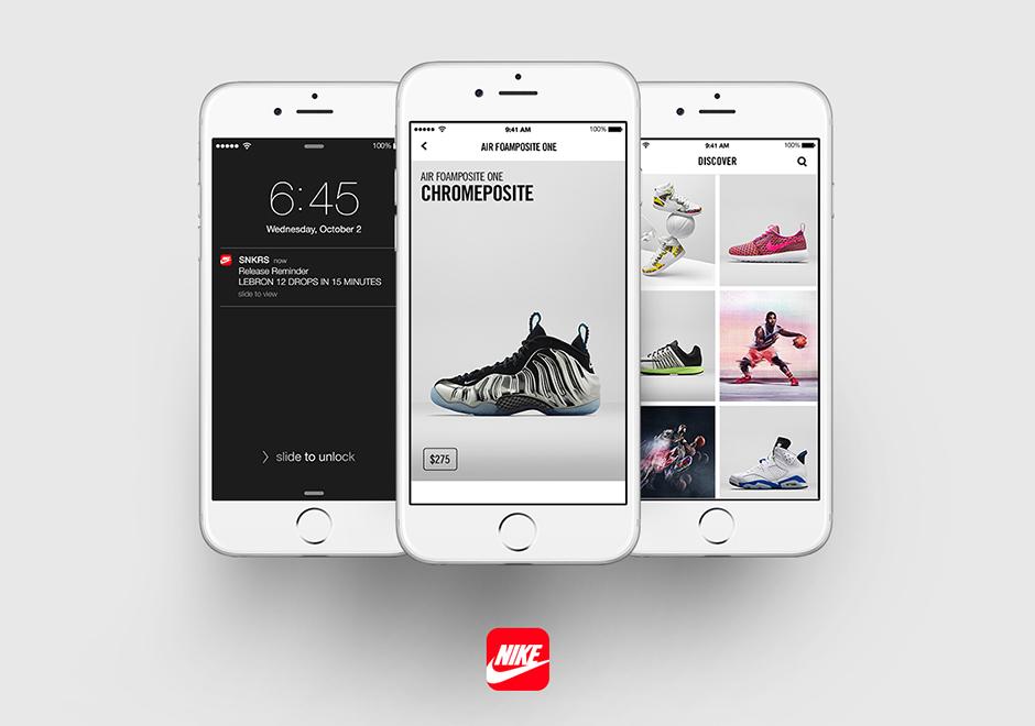Novia barrer La cabra Billy  Nike Launches SNKRS App - SneakerNews.com