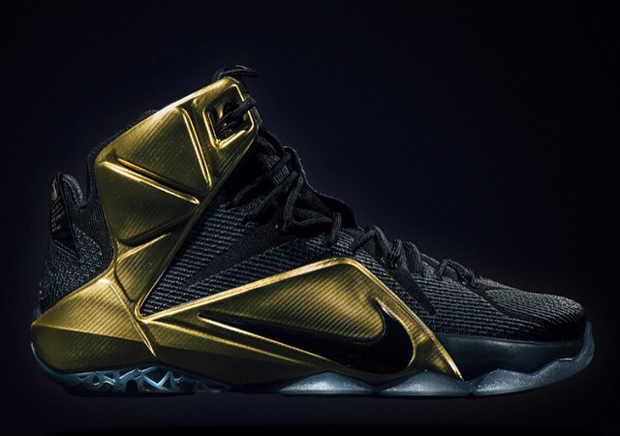 new arrival e1352 57d10 Closer Look at the Elusive Grammy Night LeBron 12 PE ... Source Barney Wang  .