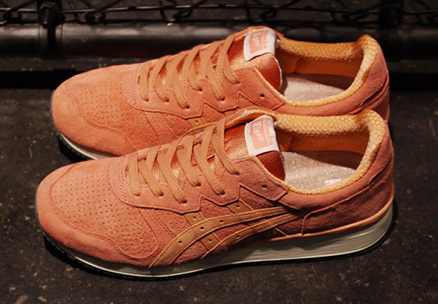 asics tiger rose
