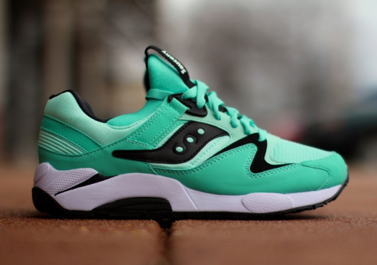 "Saucony Grid 9000 ""Mint"" – Available"