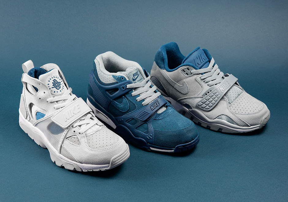 huge discount 1ab90 08bbb A Detailed Look at the Size  x Nike Air Trainer Collection - SneakerNews.com