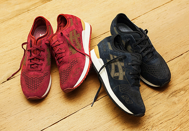official photos 669d7 73edf Packer Shoes links up with Asics for a premium Gel Lyte III, and the toned  down  Laser Pack  is now available introducing the rebranded ASICS Tiger ...