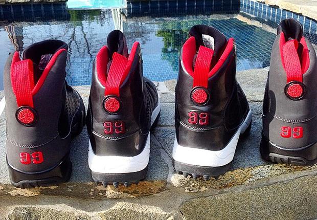 A Look At Air Jordan 9 On-Field/Off-Field PEs for Warren Sapp