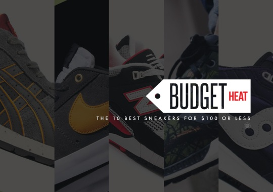 Budget Heat: March's 10 Best Sneakers for $100 Or Less