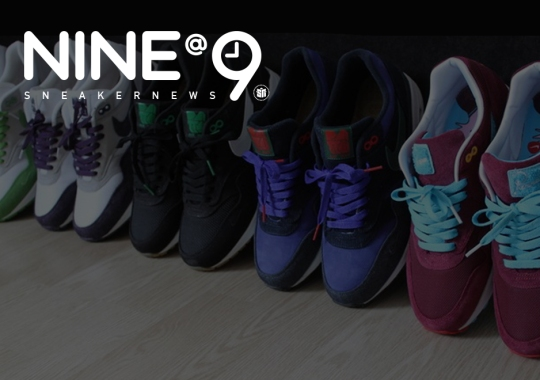 Sneaker News NINE@NINE: Memorable Themed Collab Packs