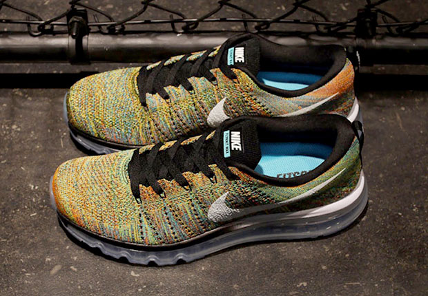 nike air max flyknit 2015 multicolor