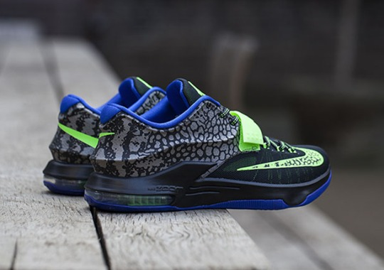 "Nike KD 7 ""Electric Eel"" – Release Reminder"