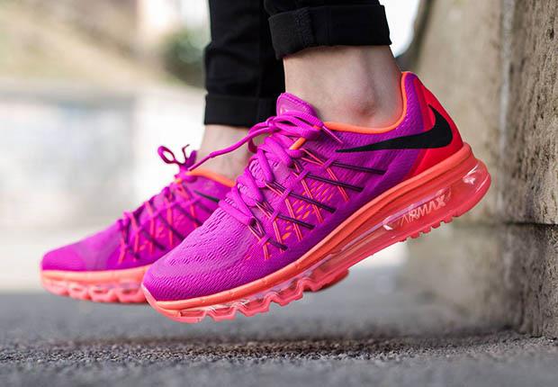 new arrival 51984 00594 Nike Women s Air Max 2015 - Fuchsia Flash - Hot Lava - SneakerNews.com