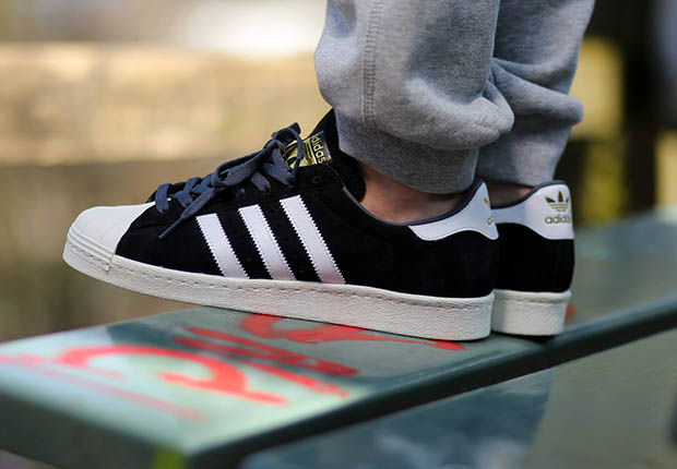 Adidas Originals Superstar Camoscio Nero 8LQXgcEa