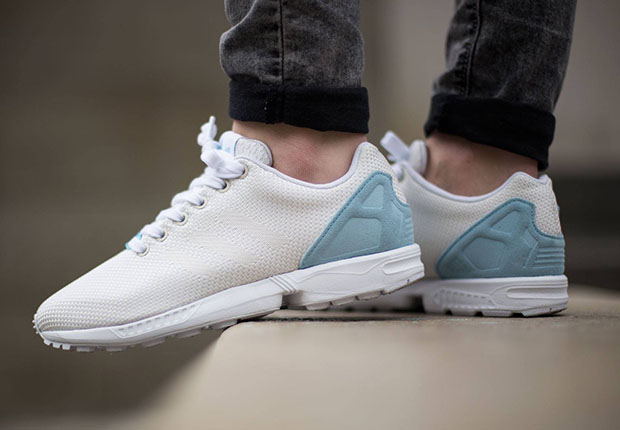 adidas originals zx flux white