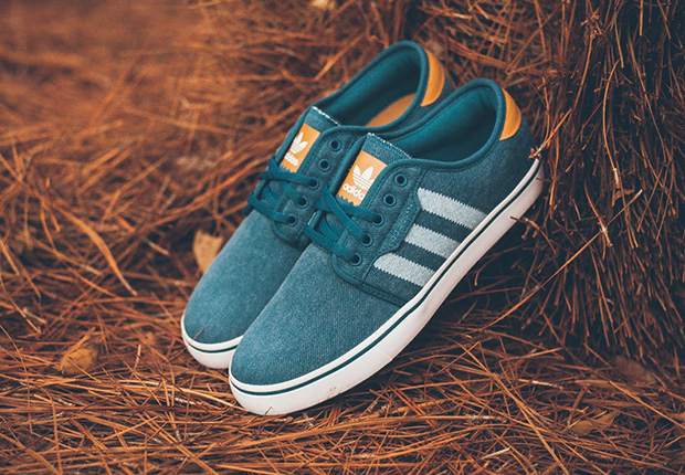 adidas Skateboarding Seeley - Blue Canvas - Mesa - SneakerNews.com 4148bc0a7