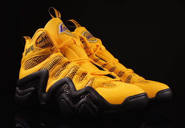 "more photos 53aa5 93c25 adidas Crazy 8 ""Lakers Snakeskin"" – Available"