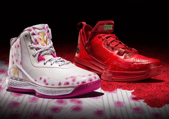 """adidas Hoops """"Florist City"""" Collection"""