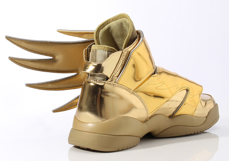 Jeremy Scott And Adidas Go For Gold With Latest Wings 3 0 Release Sneakernews Com