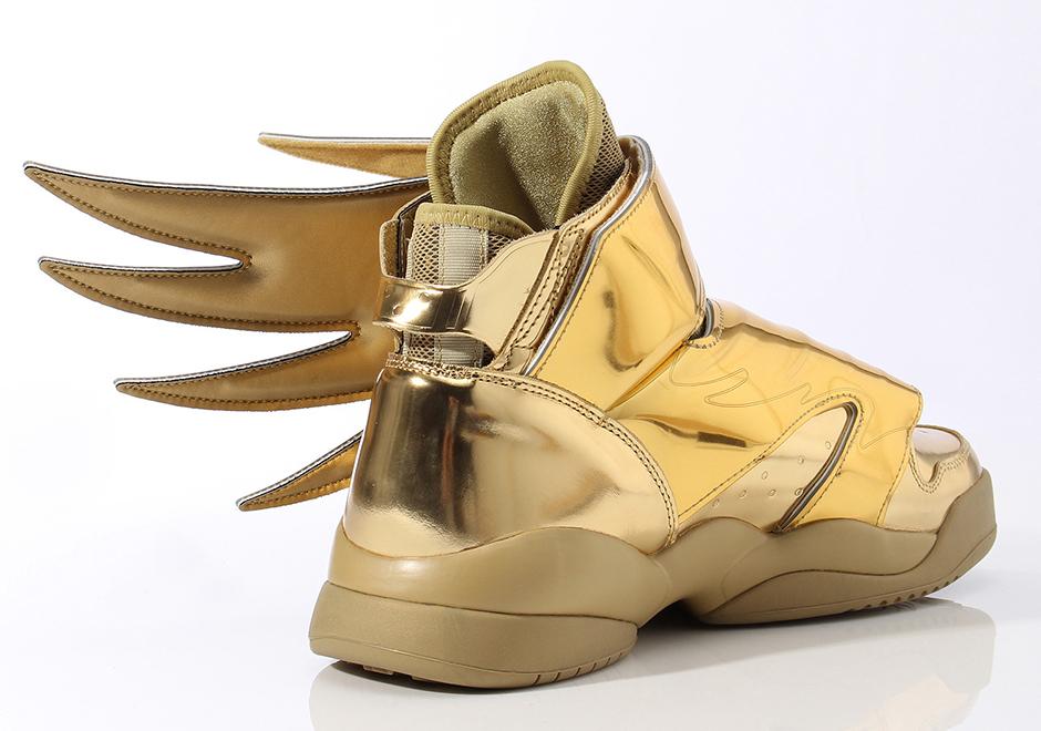 adidas jeremy scott wings shoes gold