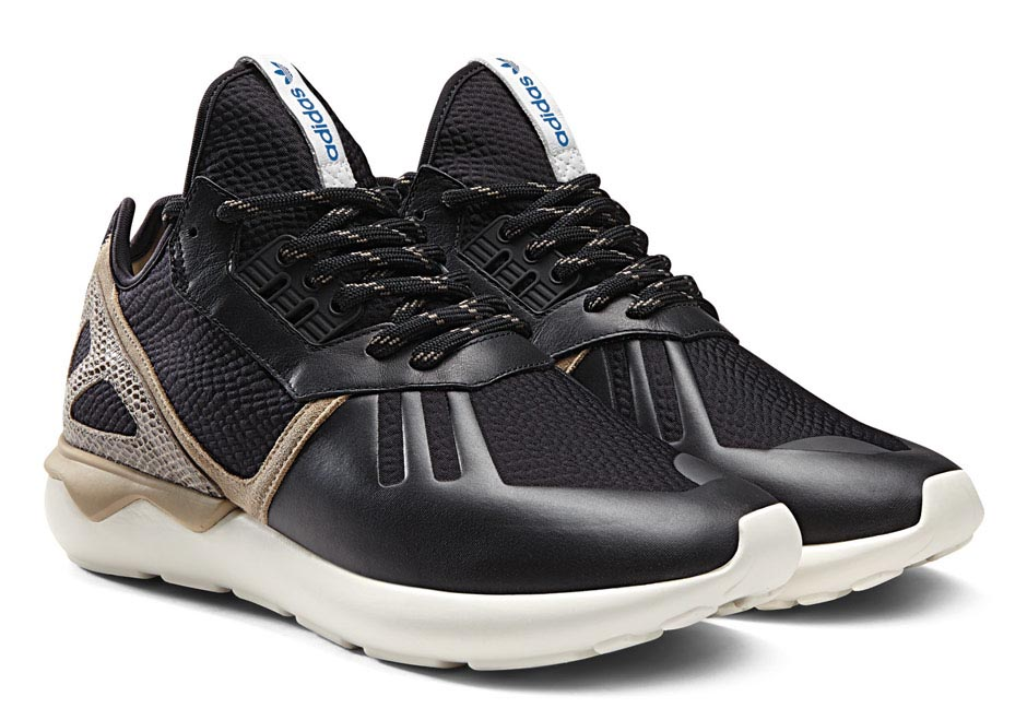 2731f8be3267 adidas Originals Dresses up the Tubular in Snakeskin
