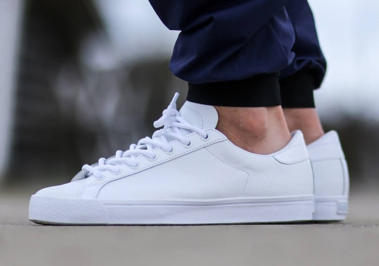 adidas Comes Through With Another Perfect All-White Tennis Shoe