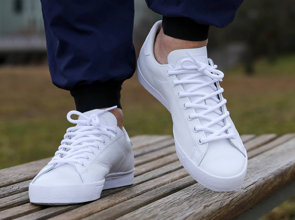 adidas Comes Through With Another Perfect All-White Tennis Shoe ... 4e2e36ac9