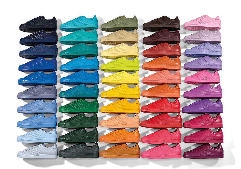 50 Colors of the Pharrell x adidas \