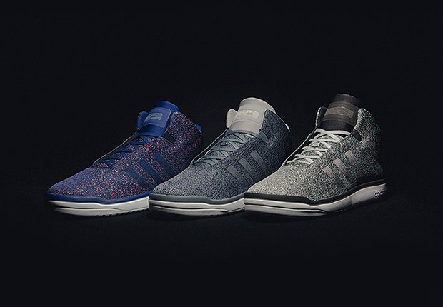 from adidas Originals arrive with the Fading Weave pack The Veritas  with its retroinspired midtop silhouette in a streamlined modern design  is
