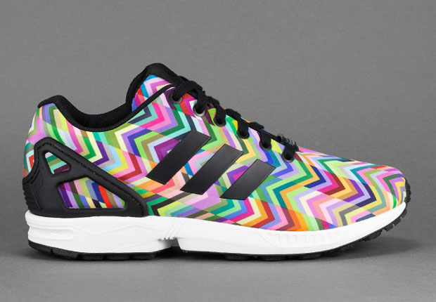adidas Originals ZX Flux All White out Mens Running Shoes - Adidas ...