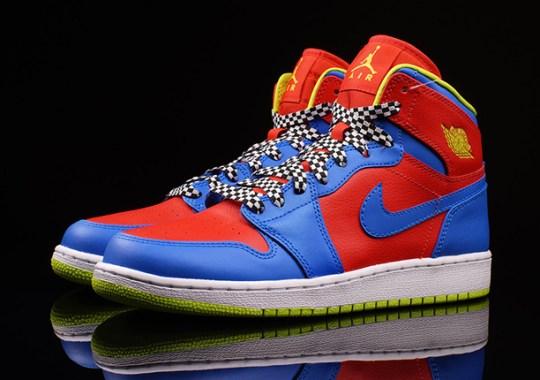 """Air Jordan 1 High GS """"Racing"""" Pack"""