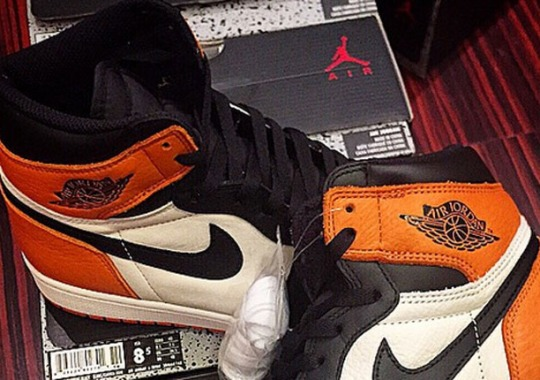 "Another Look at the Air Jordan 1 Retro High OG ""Shattered Backboard"""