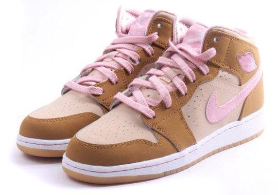 """Air Jordan 1 Mid Girls """"Lola Bunny"""" – Release Date"""